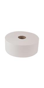 "Tork Advanced 12021502 Jumbo Bath Tissue Roll, 2-Ply, 10"" Diameter"