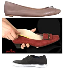 low profile shoes thin insoles