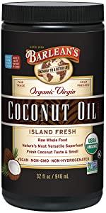 organic coconut oil 32 oz non-GMO vegan superfood non-hydrogenated cold pressed