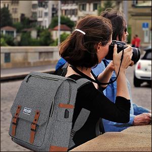 Anti Theft Water Resistant College School Bookbag