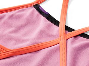 Speedo, one-piece swimwear, swimwear with liner