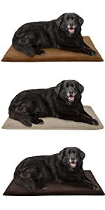 furhaven; dog; cat; pet; bed; 2; inch; orthopedic; mat