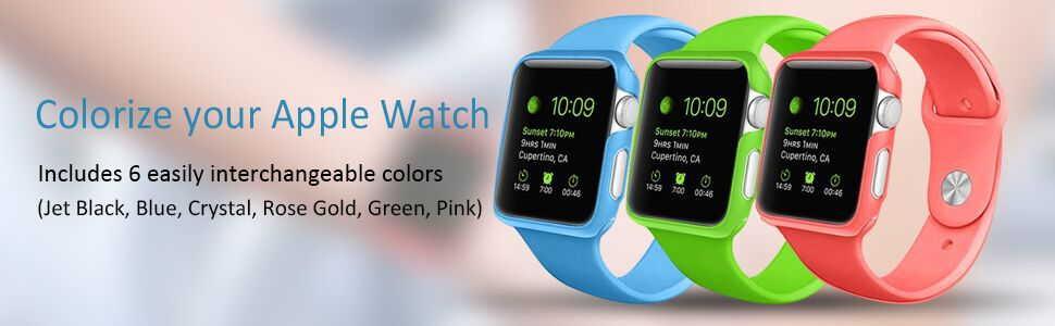 multi color cases for your apple watch