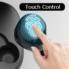 koupe headphone touch controal