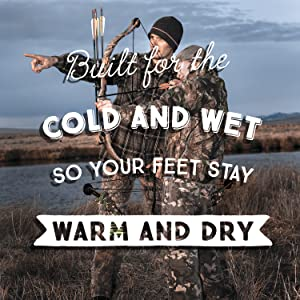 insulated hunting boots for men, women, kids