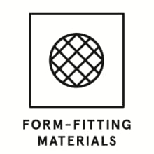 form fitting materials