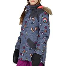 winter snowboard coat jacket riding sledding snow warm comfort heat bluesign fur durable lifetime