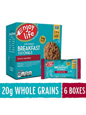 Enjoy Life breakfast oval