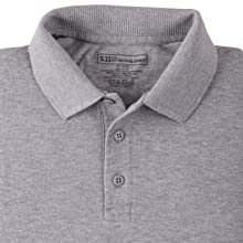 Three button front placket