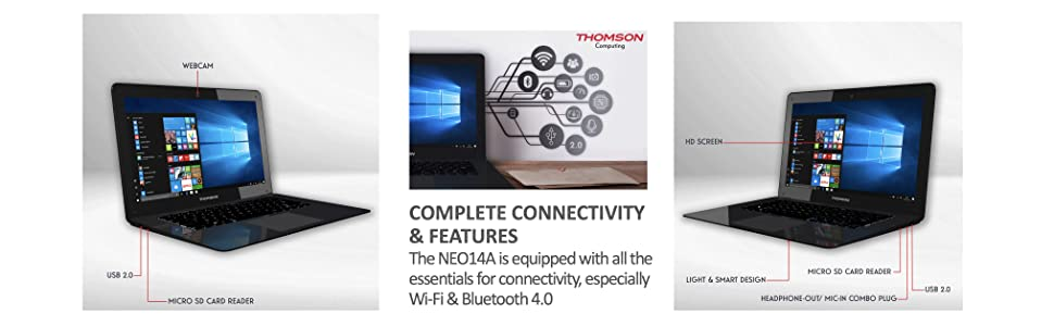 complete connectivity and features