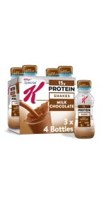 Special K Milk Chocolate Protein Shakes, 10 oz (12 Count)