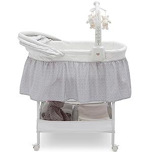 bassinet sleeper canopy bedside