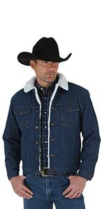 Wrangler Western Lined Denim Jacket