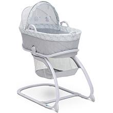 delta children baby infant newborn easy roll wheels storage