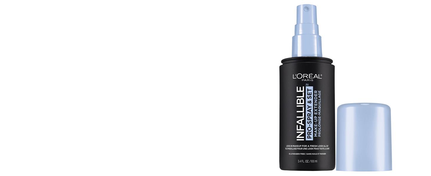 face makeup setting spray, loreal paris setting spray