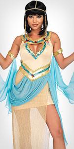 cleopatra, egyptian, costume, sexy, dress