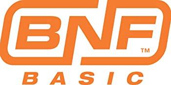 Orange and white bind and fly basic logo