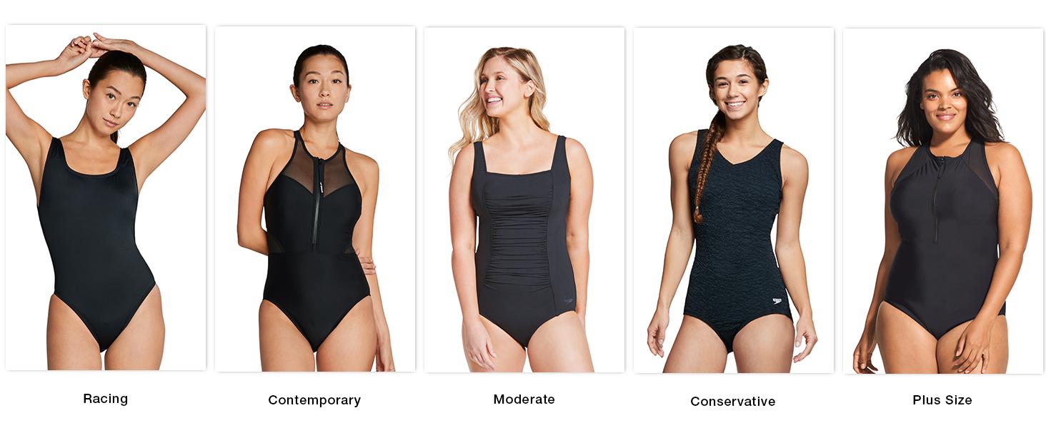 Speedo, women's swimwear, athletic swimwear, one-piece swimwear