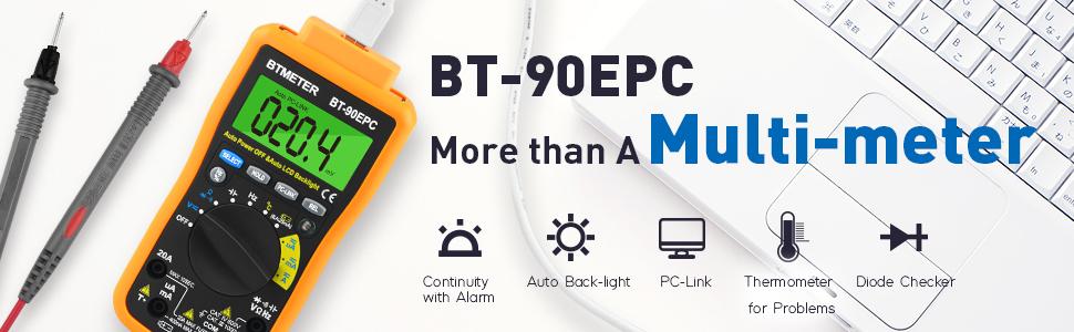 Digital Multimeter BT-90EPC
