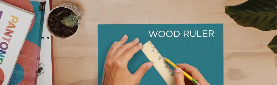 wood ruler