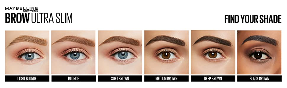 maybelline ultra smooth define brow pencil