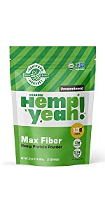 large fiber protein unsweetened
