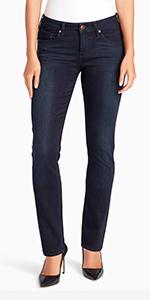 vintage america blues wonderland slim straight leg jean