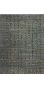 blue green rug