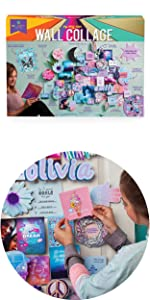 diy wall collage for your room or home easy craft kit for teens tweens adults