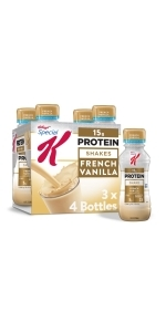 Special K French Vanilla Protein Shakes, 10 oz (12 Count)