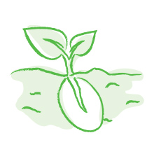 Gaia Herbs Icon Image Representing Seed to Shelf Traceability