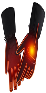 Rechargeable Electric Heated gloves for Chronically Cold Hand(No Button)
