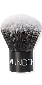 wunder2 wunderbrow makeup brush brushes face minerals foundation  setting powder liquid setting