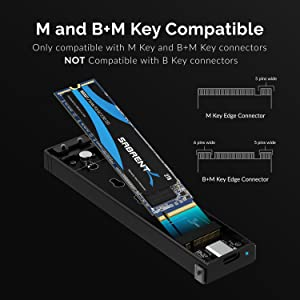 M and B+M Key