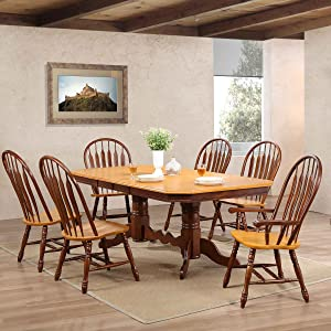 extra large dining table,doulbe butterfly leaf,butteryfly leaf table,self-storing,traditional