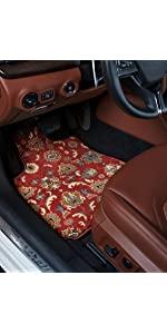 GGBAILEY D2677A-F1A-BK-LP Custom Fit Automotive Carpet Floor Mats for 1994 1996 1995 1997 Land Rover Defender 90 Black Loop Driver /& Passenger