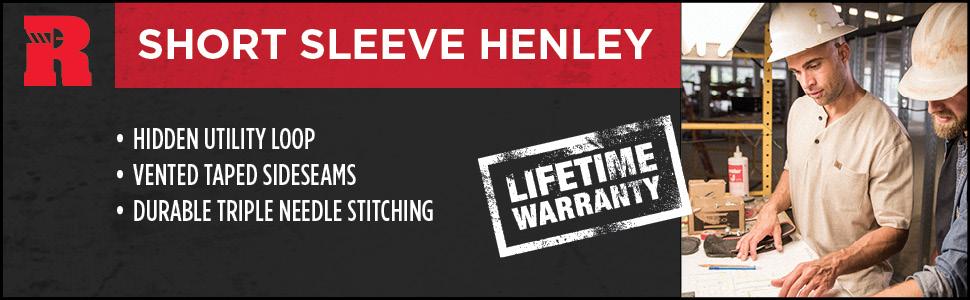 RIGGS Short Sleeve Henley