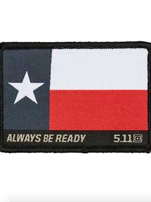 5.11 texas flag patch