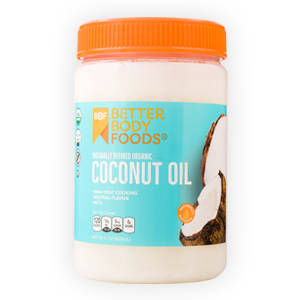 Organic Refined Coconut Oil BetterBody Foods