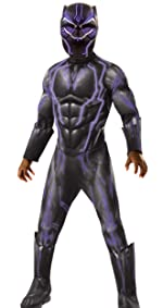 premium deluxe black panther costume
