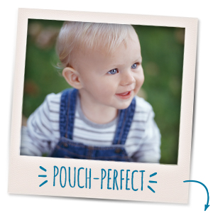 Keep toddlers hydrated on the go with convenient drink pouches.