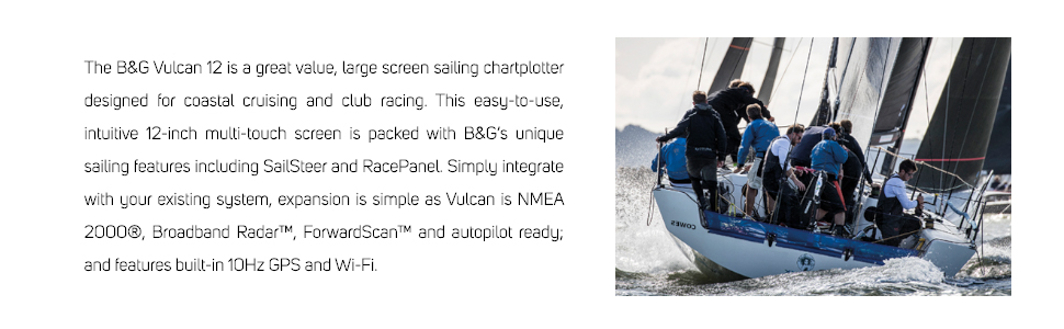 great value, 12-inch, NMEA 2000, 10hz GPS, cruising and club racing