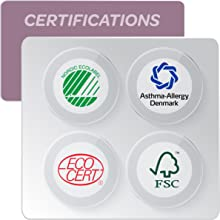 eco nordic swan asthma allergy fsc ecocert sustainable