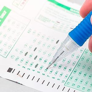 pentel, scantron, #2, HB, pencil, lead, mechanical, side, click, advance, quick click pencils
