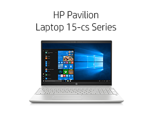 HP Pavilion Laptop 15-cs Series