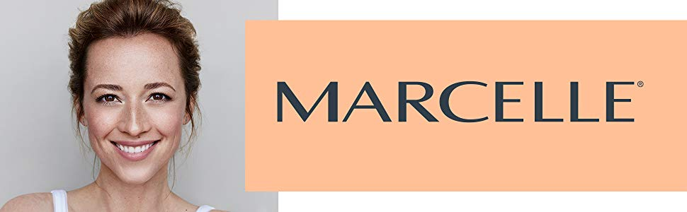Marcelle Cosmetics, hypoallergenic, dermatologist-tested, & fragrance free.