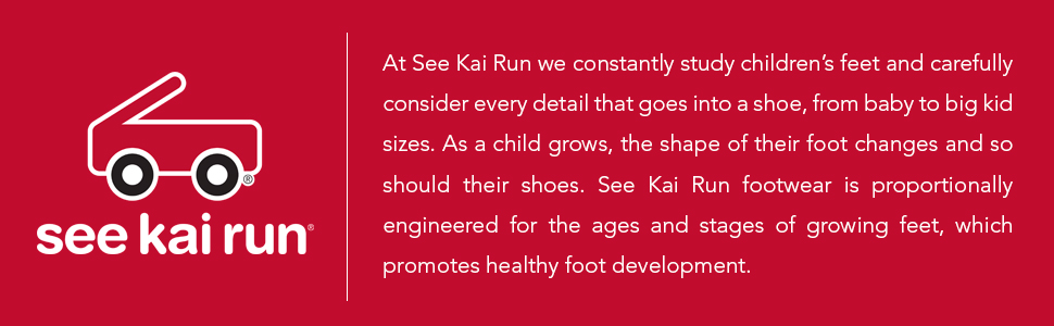 See Kai Run, proportionally engineered footwear, childrens shoes
