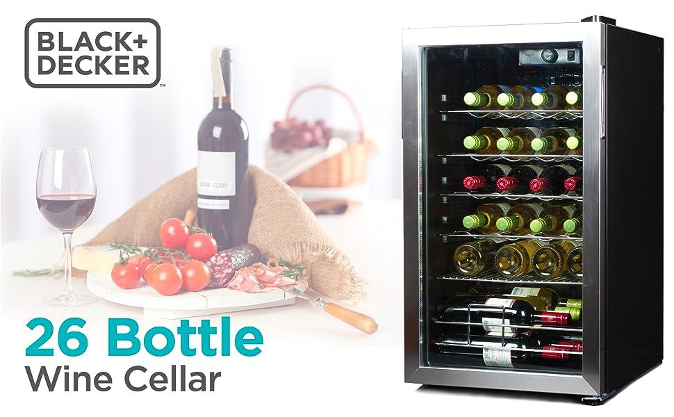 wine cellar, wine cooler, 24 bottle