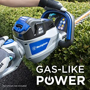 Westinghouse gas power cordless lawn garden 40v 40 volt hedge trimmer samsung sdi battery tool cell