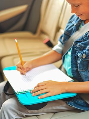 compact, essential, lapdesk, lapgear, travel, homework, tablet, plastic desk, student